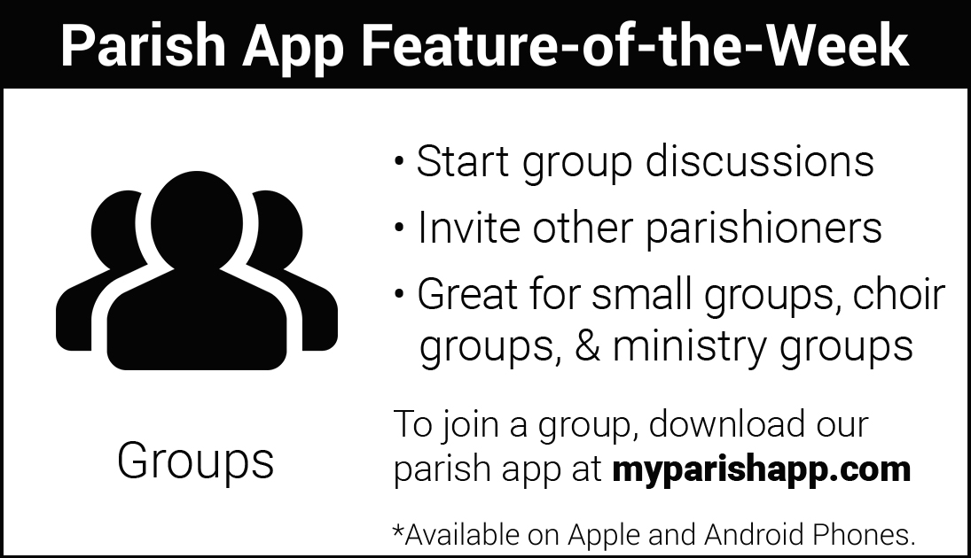 App Feature of the Week: GROUPS
