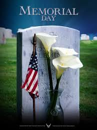 Memorial Day Schedule Reminder…