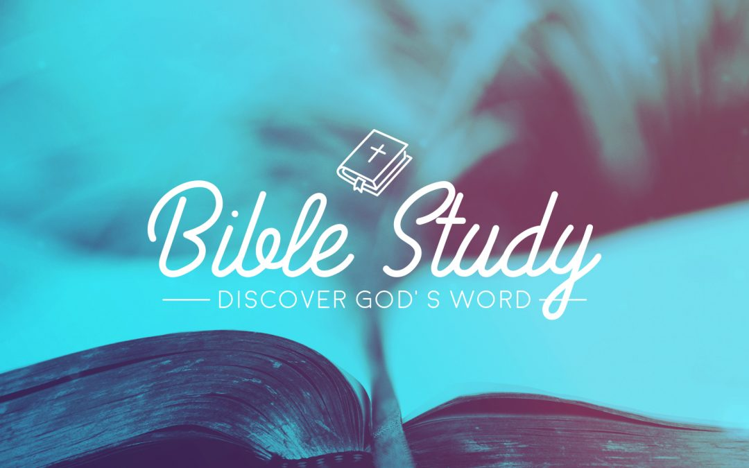 "Bible Study — ""Genesis to Jesus"""