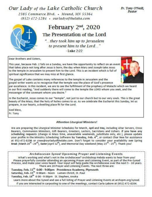 02.02.2020 Bulletin