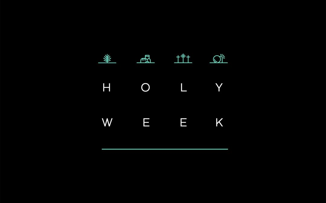 2020 Holy Week Schedule