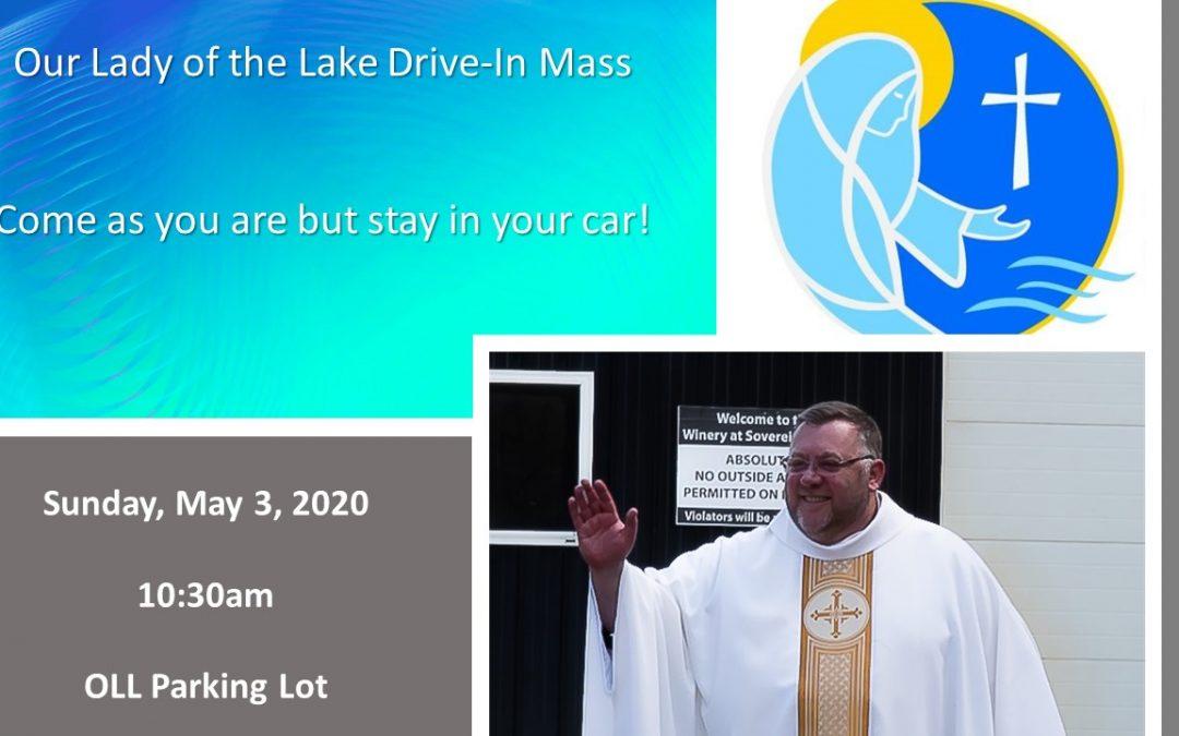Sunday Mass Announcement