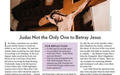 Sacrifice of Praise Week 6 of Lent
