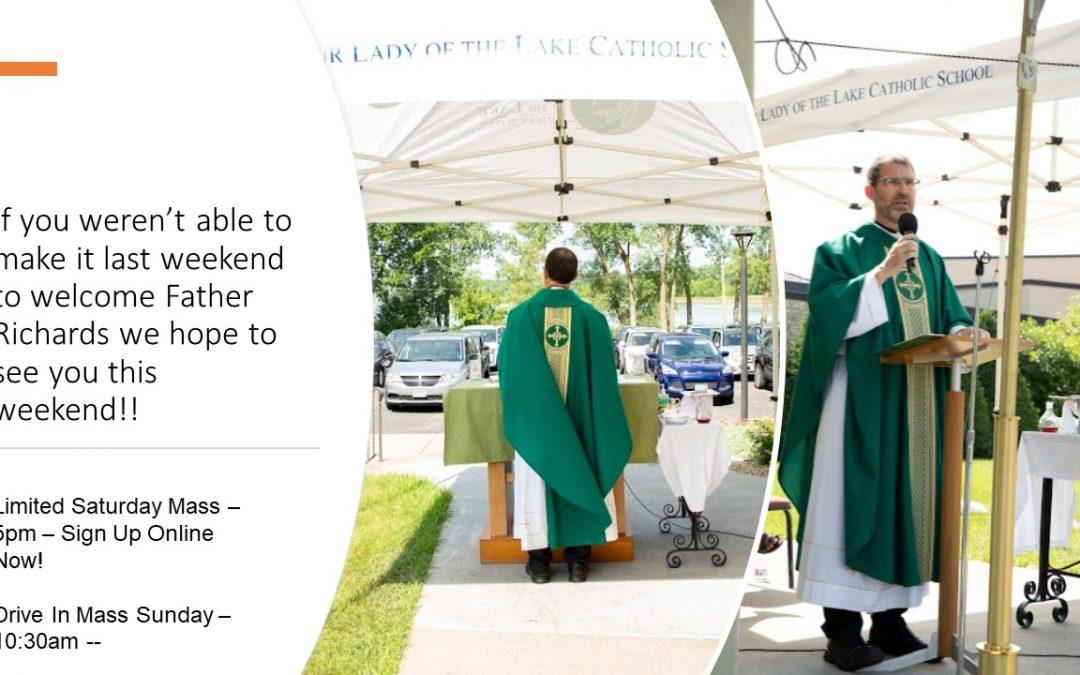 July 11-12th Masses