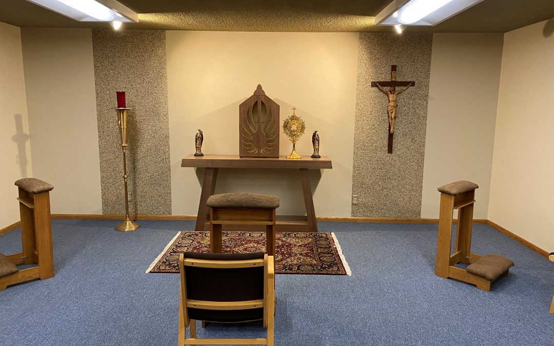 Newly Remodeled John Paul II Chapel