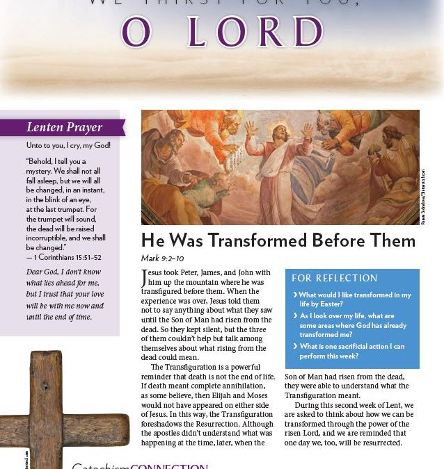 Meditations for the Second Week of Lent