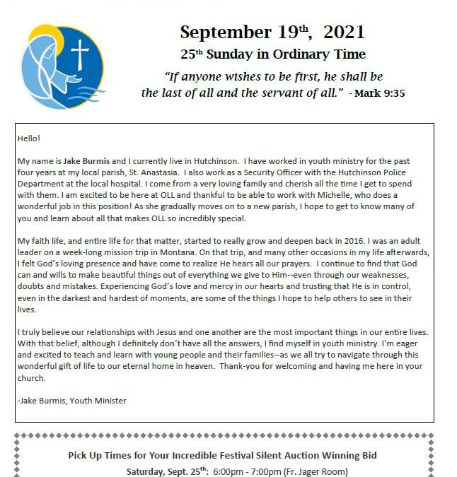09.19.2021 Bulletin